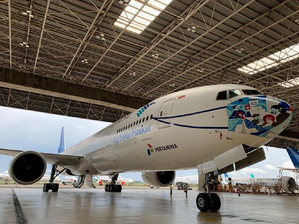 Garuda Punya Boeing 777, Tapi Mesinnya Masih Aman