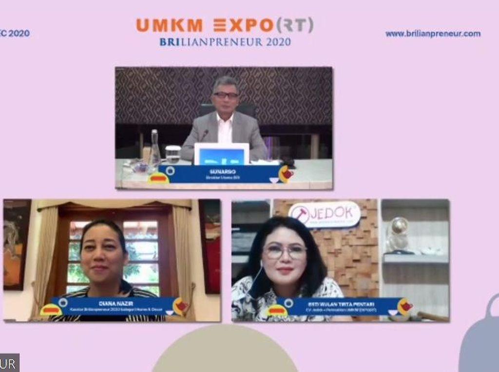 Gelar UMKM EXPO(RT) BRILIANPRENEUR, BRI Dorong 400 UMKM Go Global