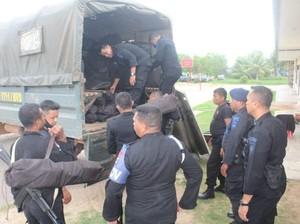 Jaga Keamanan usai Rusuh Pilbup Boven Digoel, Brimob dari Merauke Dikirim