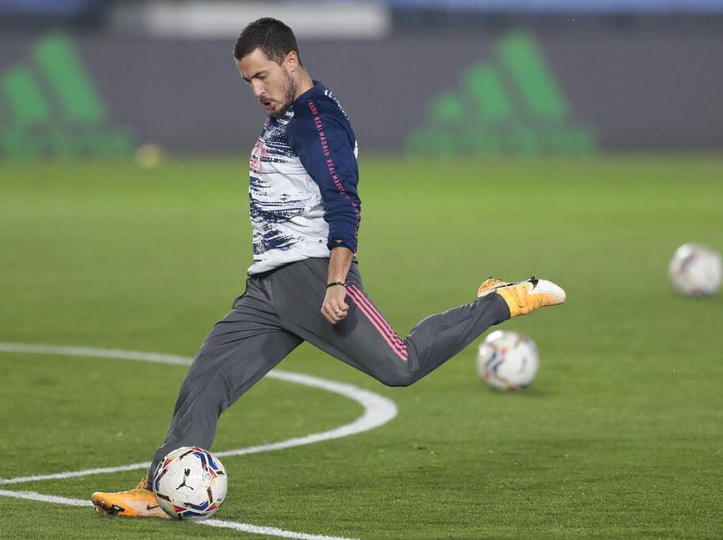 Hazard di Madrid, Lebih Sering Cedera ketimbang Buat Gol dan Assist