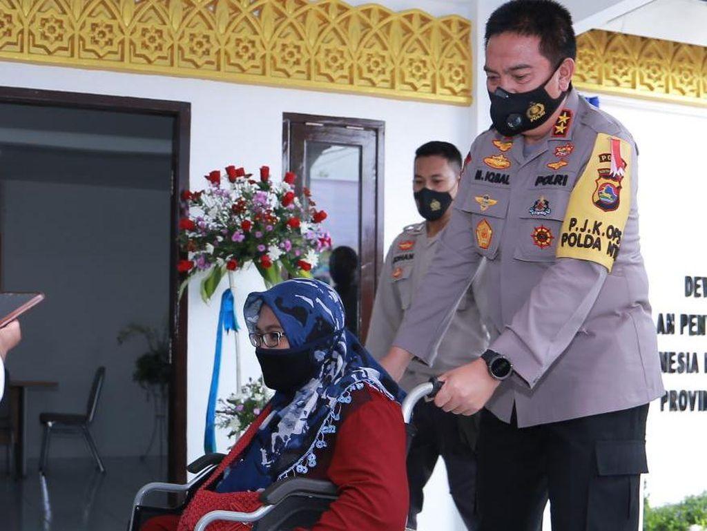 Cerita Kapolda NTB Inisiatif Bangun Gedung Kaum Disabilitas