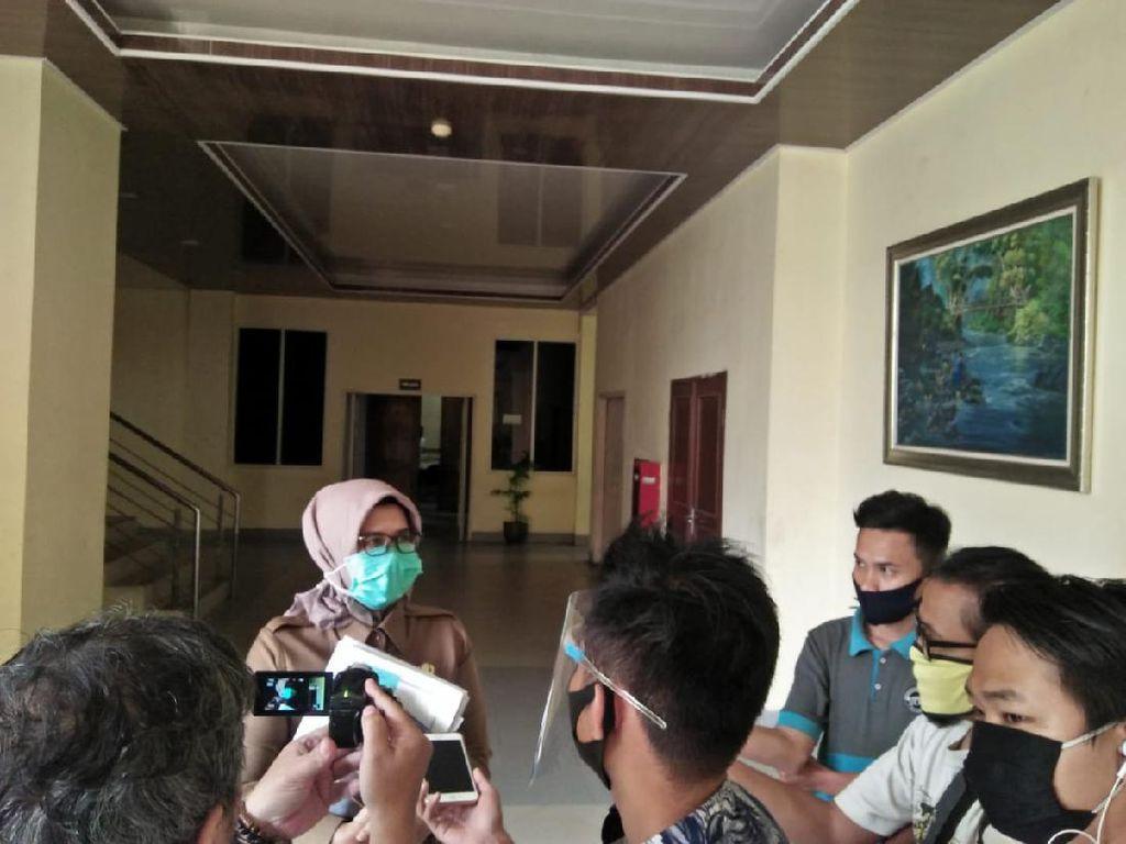Pemprov Banten Serahkan Perda APBD 2021 ke Kemendagri