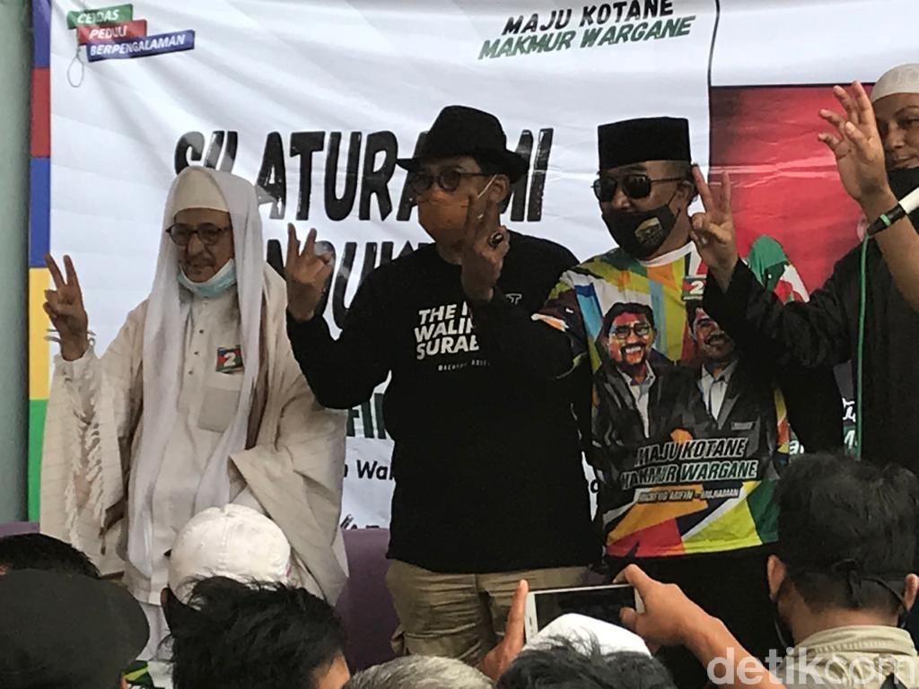 Machfud Arifin Kampanye Bareng Habib Smith di Jatipurwo Surabaya