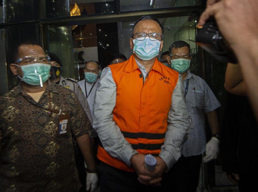 Selain 8 Sepeda, KPK Sita Rp 4 M dari Rumah Dinas Edhy Prabowo