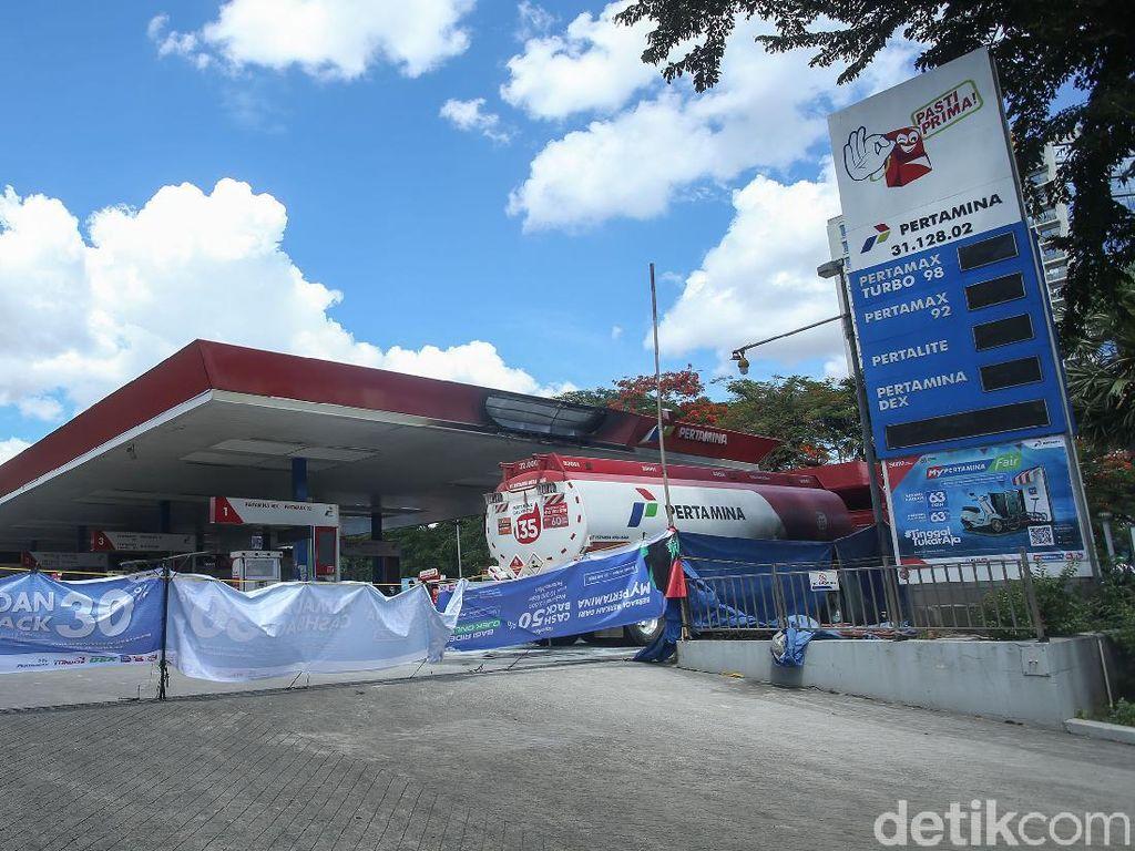 SPBU MT Haryono Ditutup Sementara, Isi Bensin Bisa di Sini