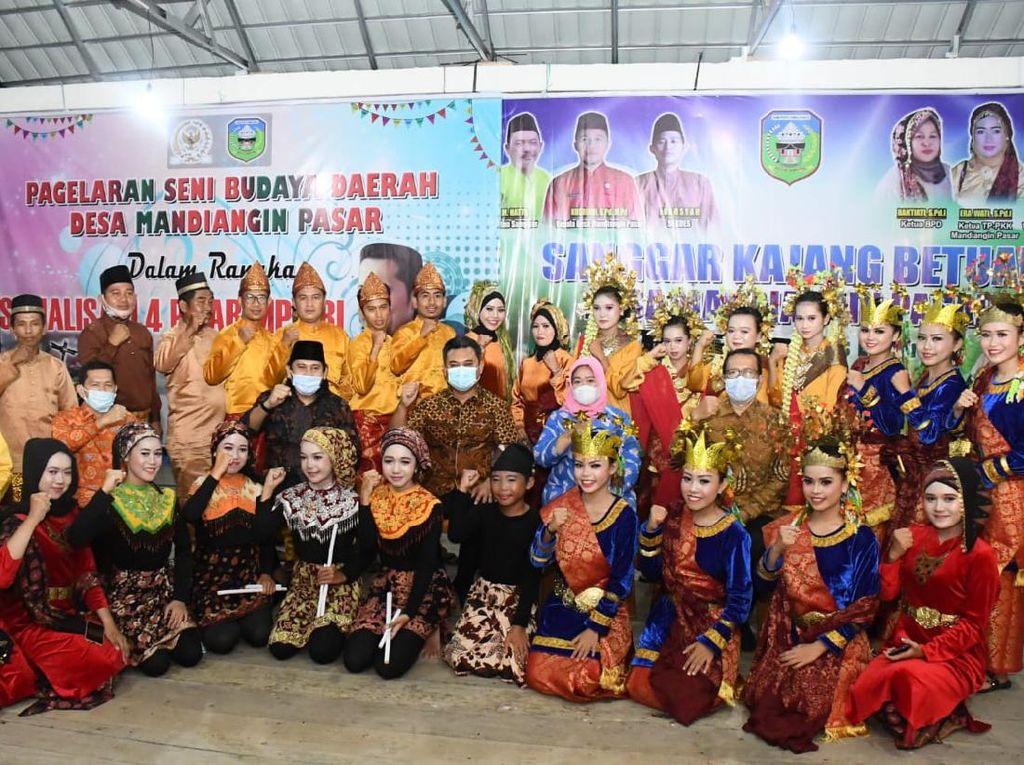 MPR Sosialisasikan 4 Pilar di Jambi Lewat Pentas Seni Asli Mandiangin