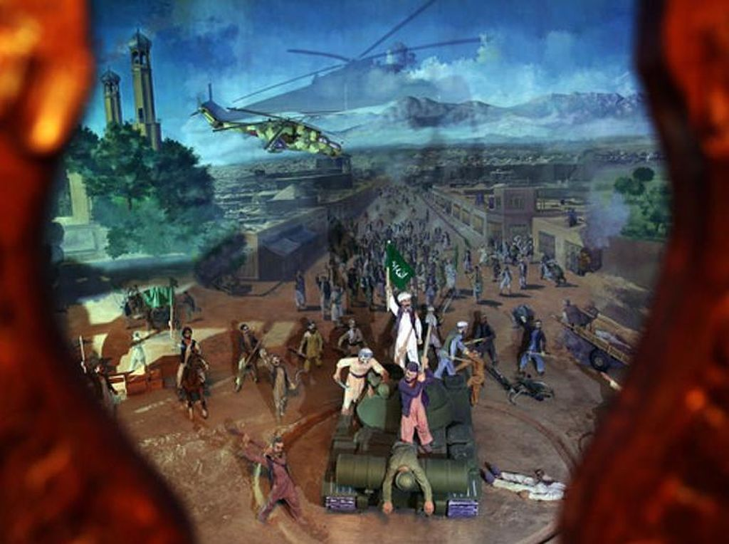 Foto: Kekejaman Perang ala Museum Jihad Afghanistan