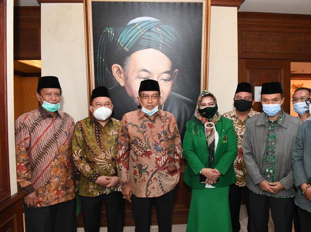 Jelang Muktamar, PPP Kunjungi 4 Fusi Pendiri Partai