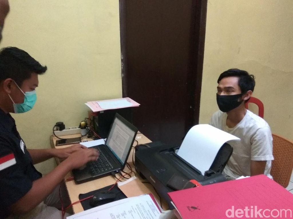 Tilap Duit Setoran, Pegawai Minimarket di KBB Bakar Tempatnya Bekerja