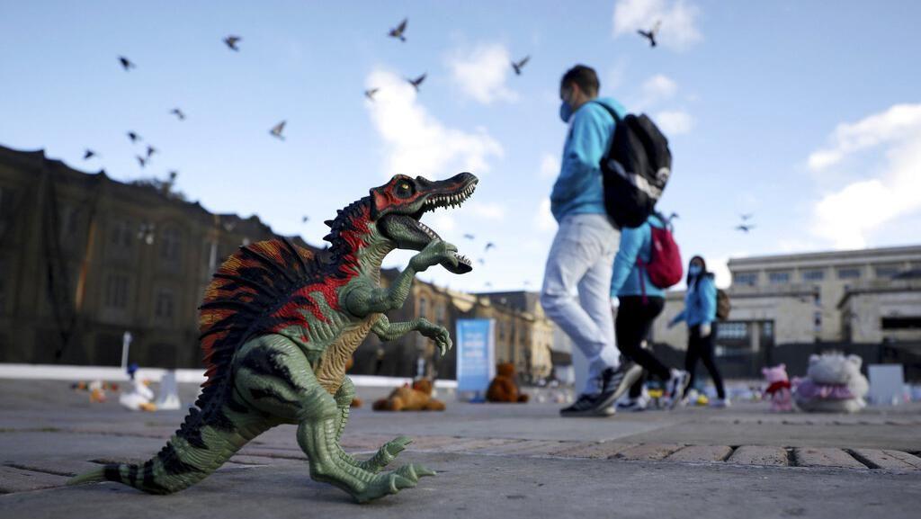 Ratusan Mainan Jadi Simbol Aksi Kekerasan Pada Anak