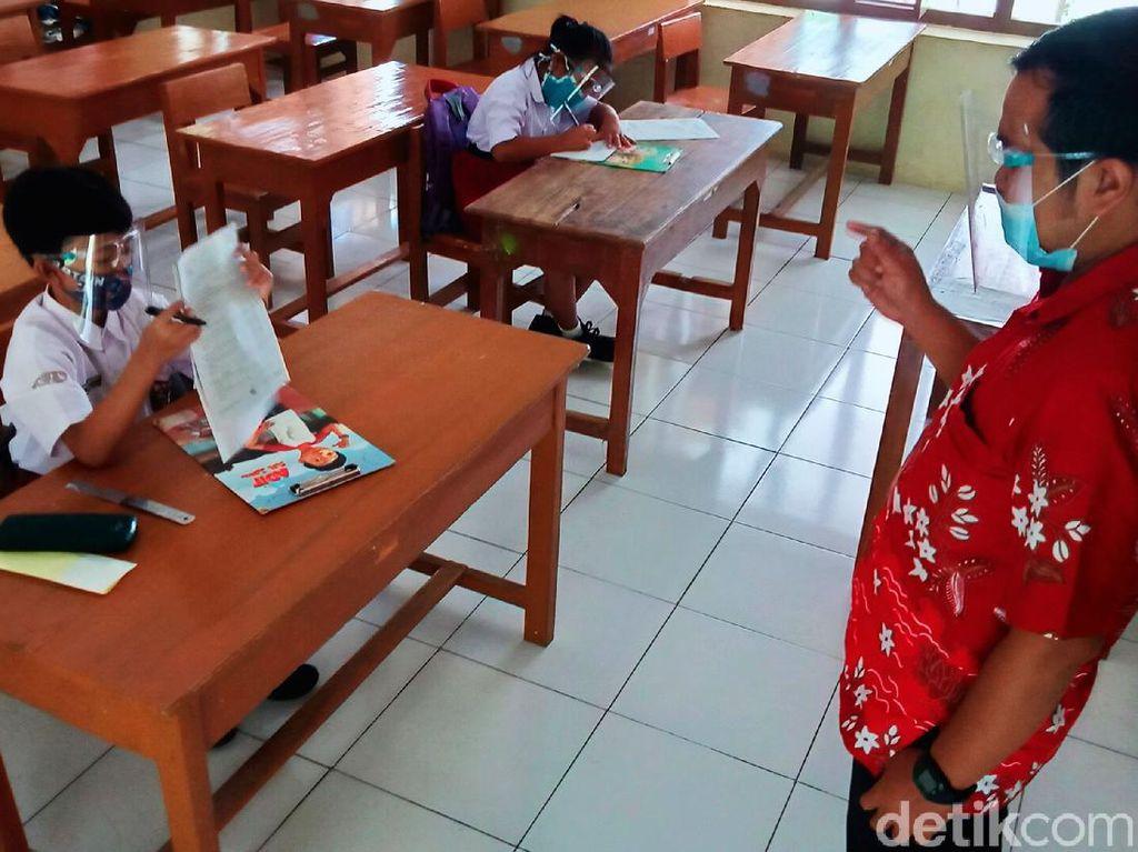 SD Negeri di Klaten Mulai Uji Coba Tatap Muka