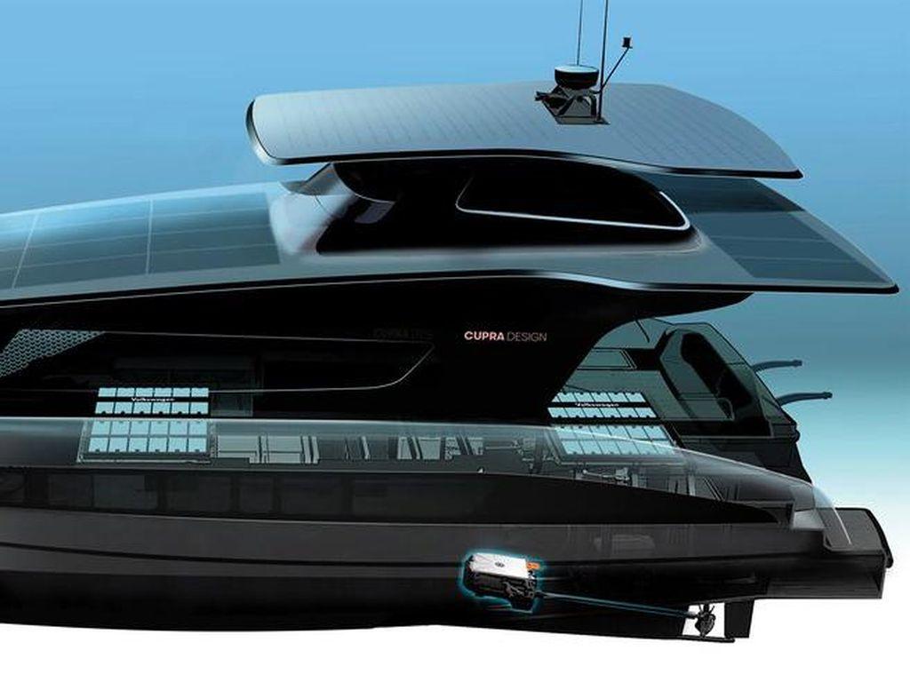 VW Bakal Produksi Yacht Mewah Bertenaga Matahari