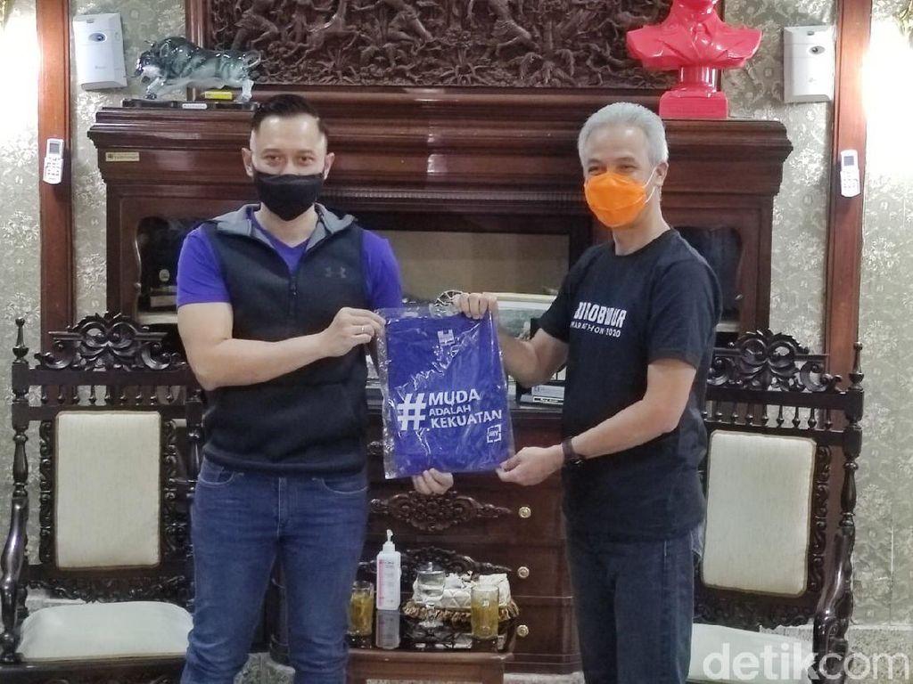 PD Ogah Recoki Ganjar-PDIP: AHY Miliki Hubungan Sangat Baik