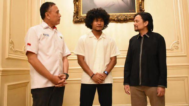 Ketua Umum PSSI, Mochamad Iriawan memastikan Bagus Kahfi bakal bergabung dengan Utrecht setelah dilepas secara gratis oleh Barito Putera. Arsip Ketua PSSI