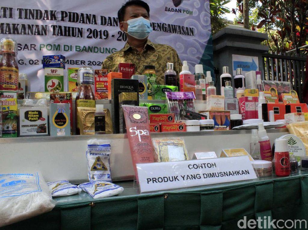 Bagaimana Bedakan Obat-Kosmetik Ilegal, Ini Kata Kepala BPOM Bandung