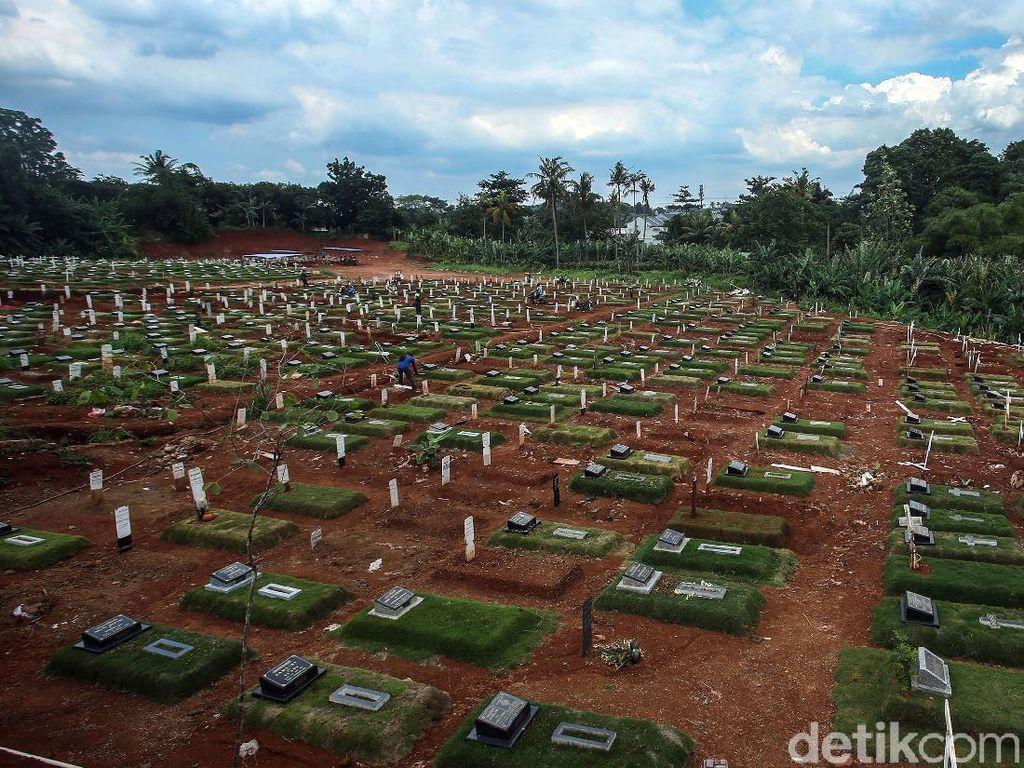 Corona Belum Habis, Lahan Pemakaman di Pondok Ranggon Menipis