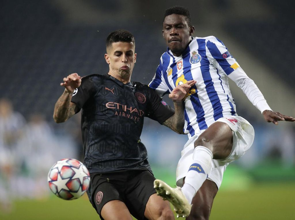 Porto Vs Manchester City: Redam Citizens 0-0, Dragoes ke 16 Besar