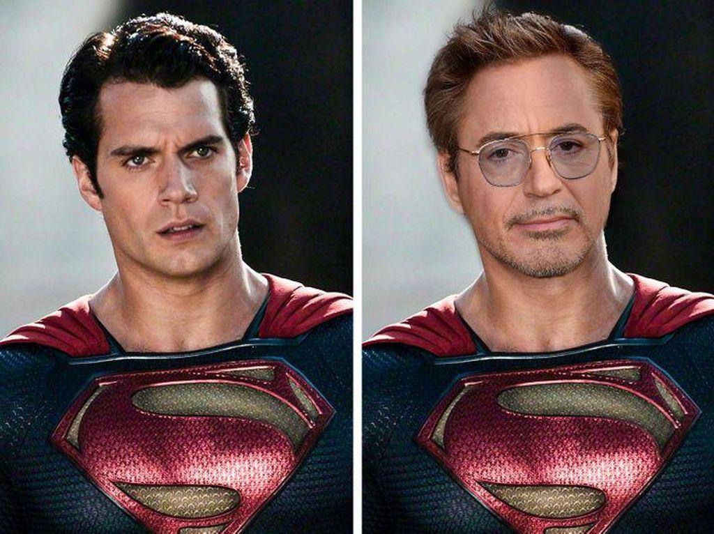 Ini Jadinya Jika Superhero Marvel dan DC Bertukar Aktor