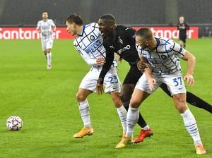 Gladbach Tahan Inter 1-1 di Babak Pertama