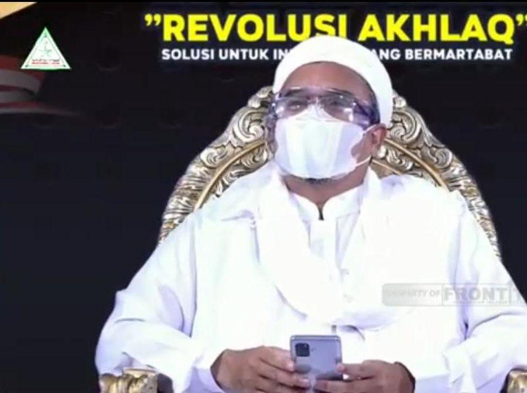 Habib Rizieq Hadiri Dialog Nasional di Lokasi Terpisah