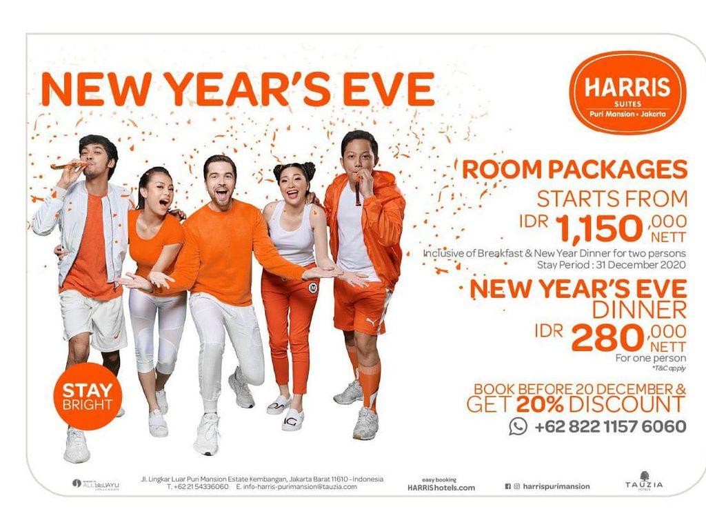 HARRIS Suites Puri Mansion, Destinasi Baru Staycation di Akhir Tahun