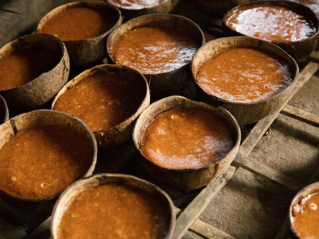Ini Cara Membedakan Gula Merah Asli dan Oplosan