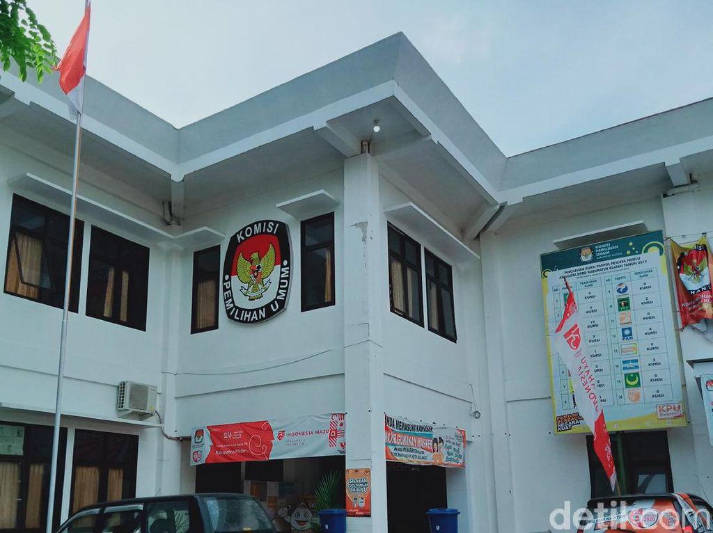 Zona Merah, KPU Klaten Tak Revisi Target Partisipasi Pemilih Pilkada