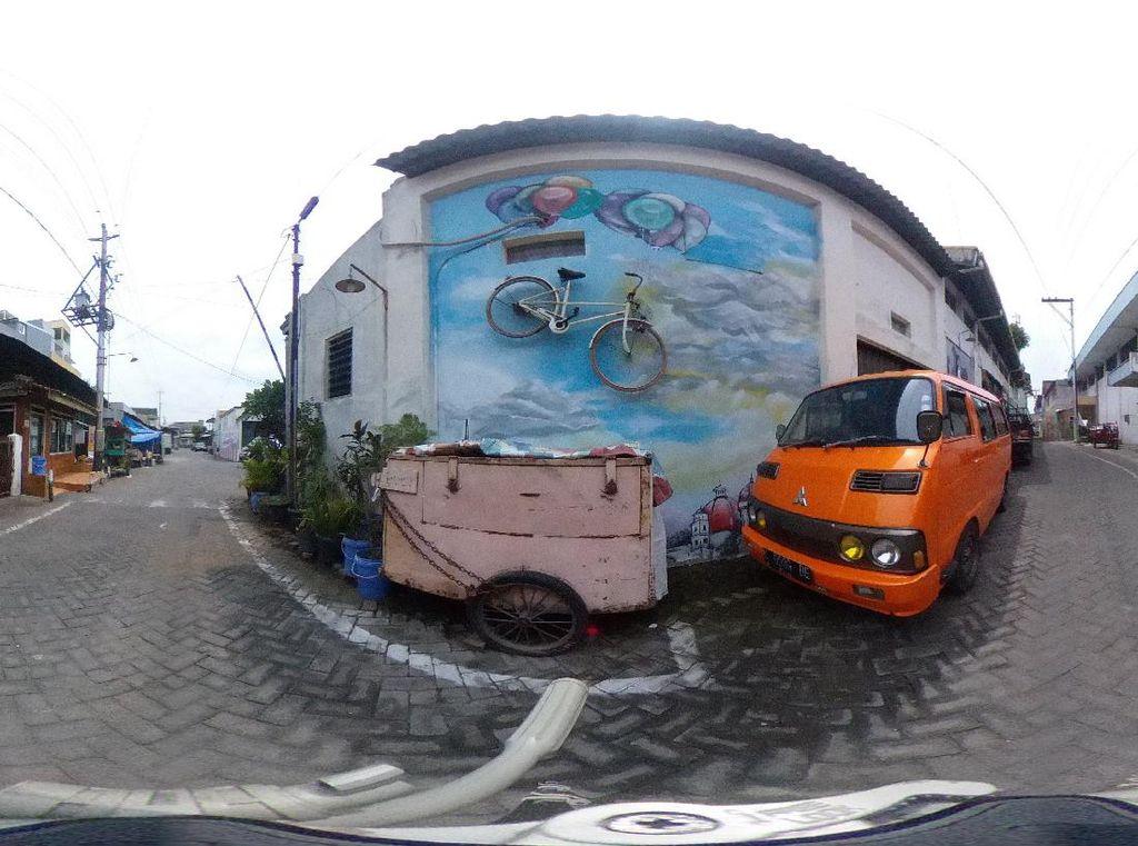 8 Site Spesific Komunitas Hysteria Semarang Mejeng Virtual di Galeri Nasional