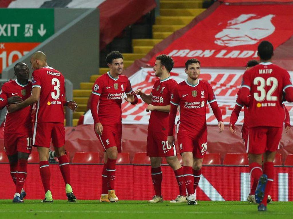 Liverpool Vs Ajax: Menang 1-0, The Reds Lolos ke 16 Besar