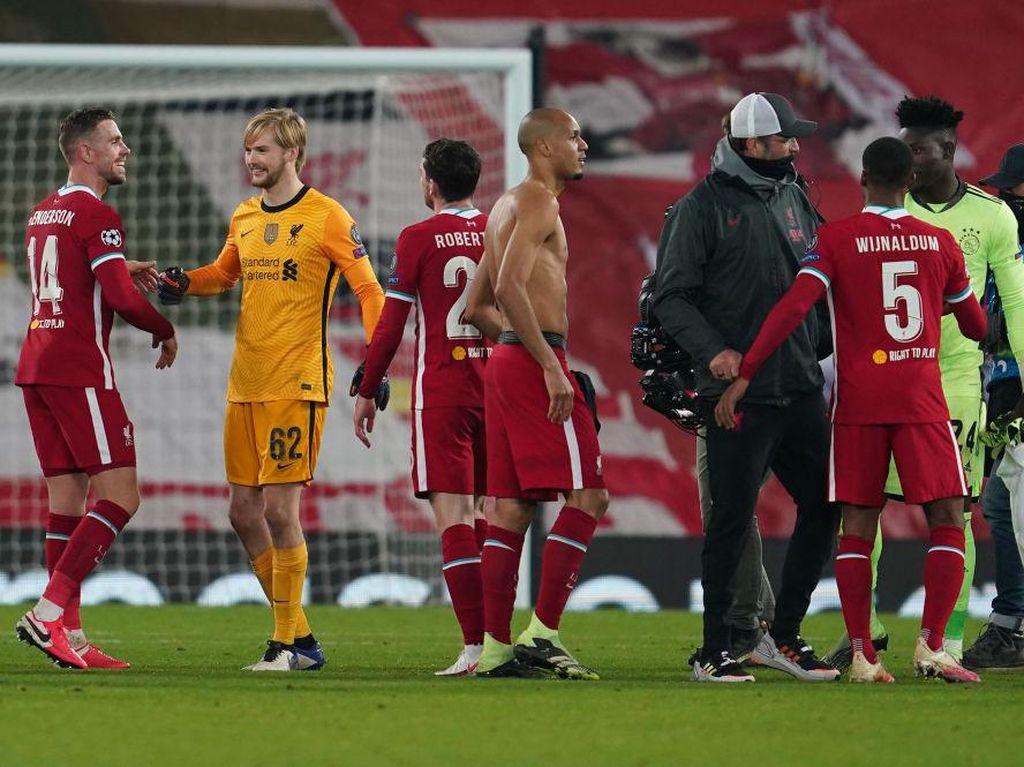 Liverpool Hebat, Lagi Compang-camping tapi Bisa Kalahkan Ajax