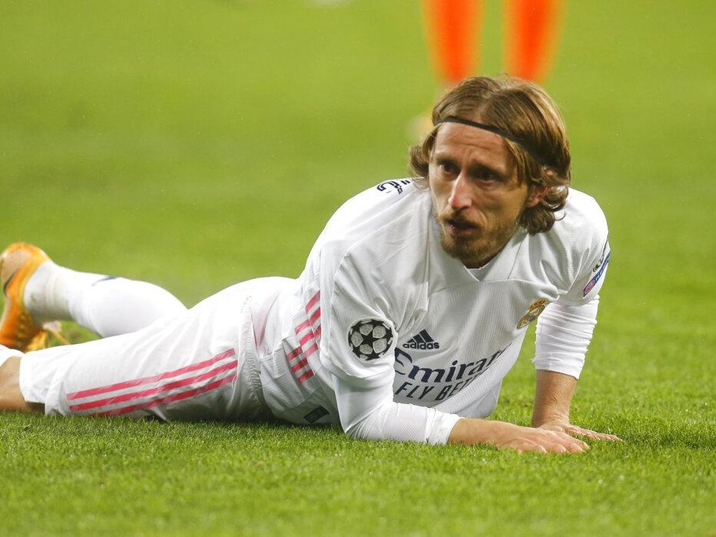 Real Madrid Kalah, Luka Modric Bingung