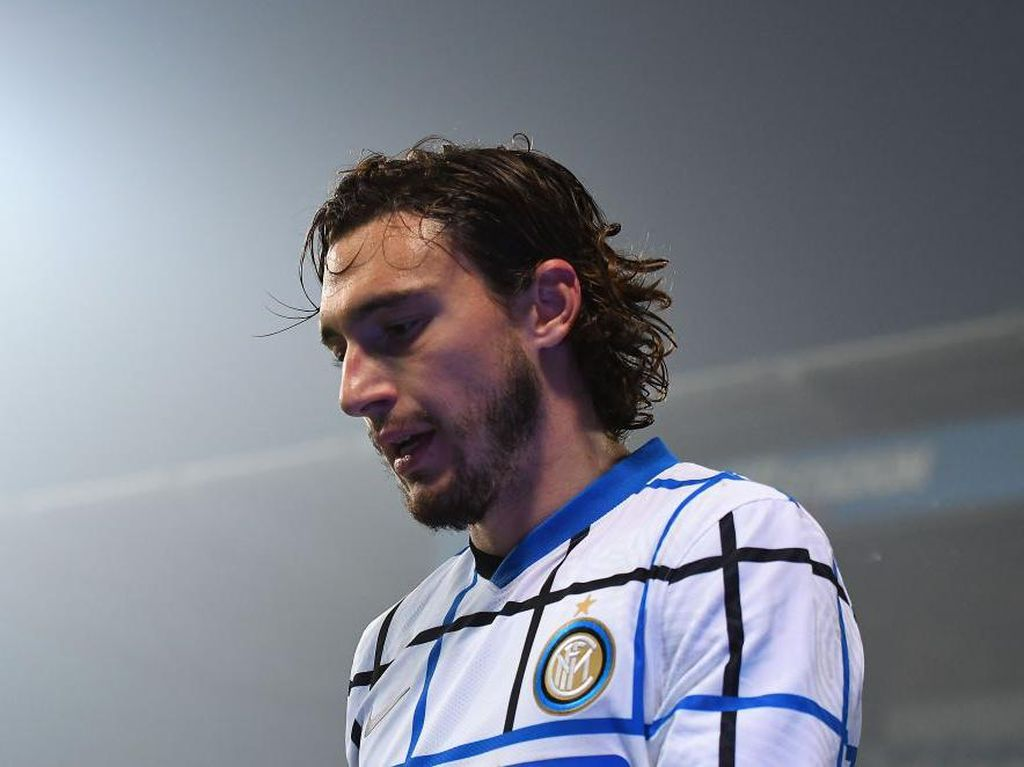 Matteo Darmian Rayakan Ultah dengan Gol untuk Inter