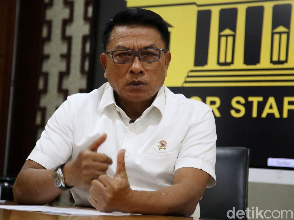 Moeldoko Tepis Anggapan Pengabaian Arahan Jokowi soal 75 Pegawai KPK