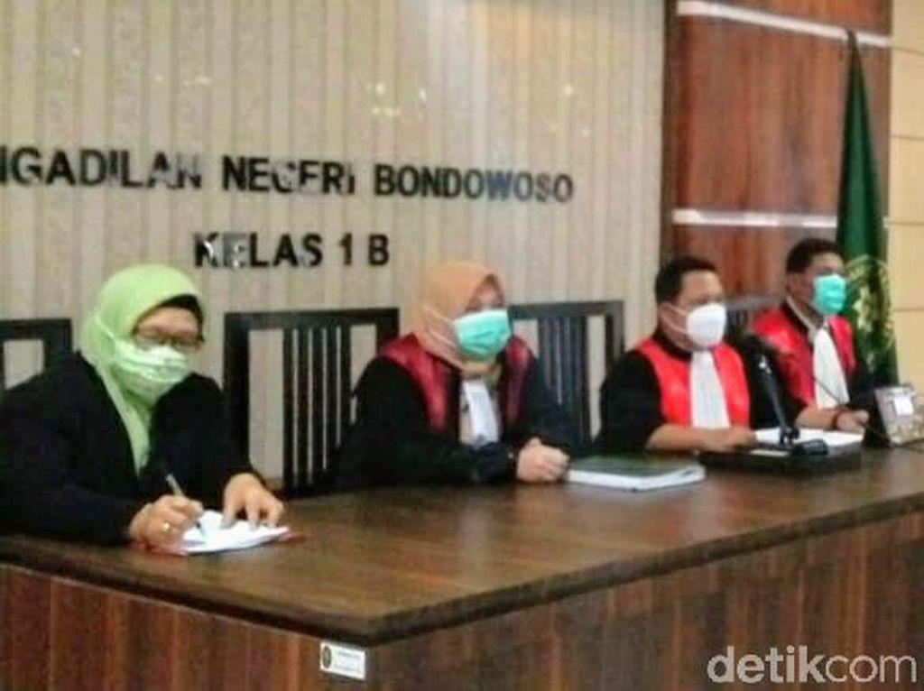Mantan Sekda Bondowoso Positif COVID-19, Sidang Putusan Ditunda