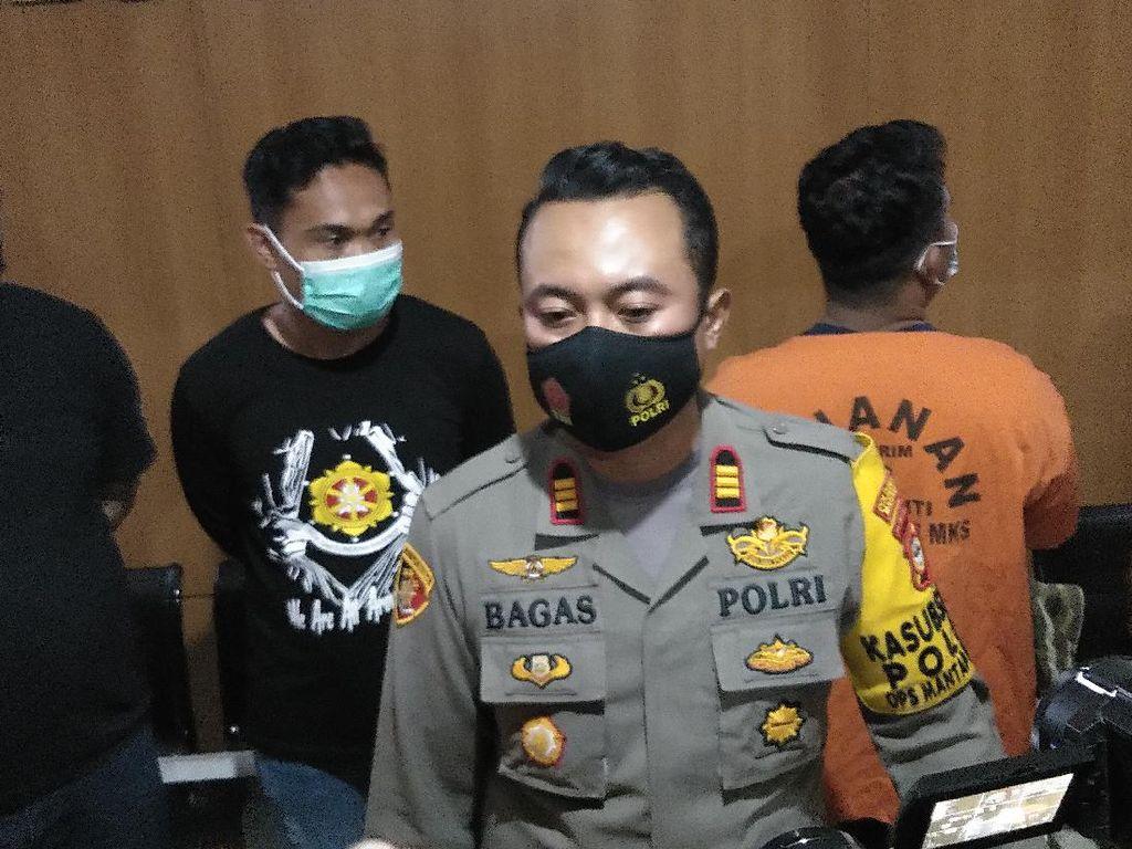 Polisi Tangkap Pembusur Massa Tolak HRS di Makassar, 27 Busur-Molotov Disita