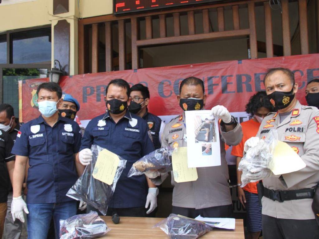 Tawuran Pakai Air Keras di Kebon Jeruk Jakbar, 4 Pemuda Ditangkap