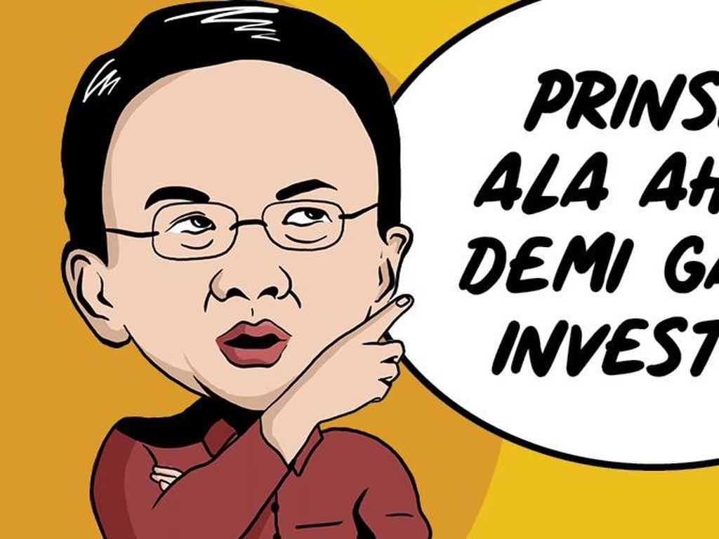 Jurus 3C Ahok Gaet Investor