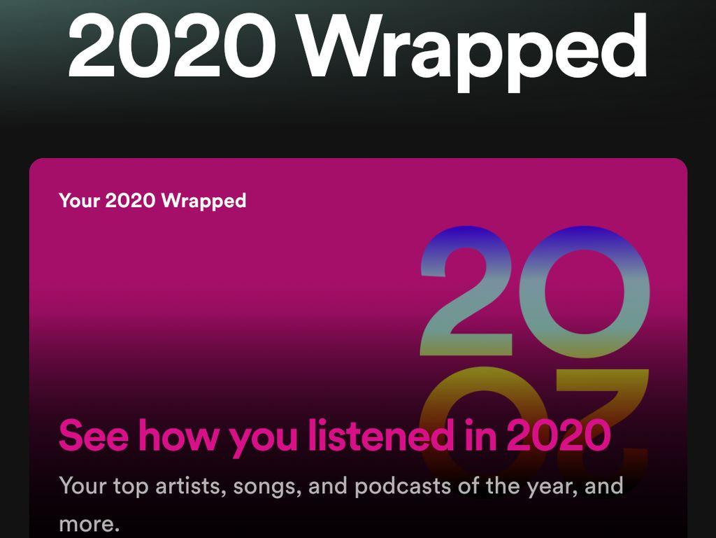 Cara Melihat dan Membuat Spotify Wrapped 2020, Ayo Dicoba
