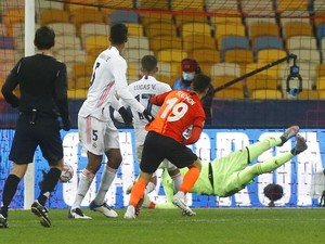 Shakhtar Vs Madrid: Los Blancos Tumbang 0-2