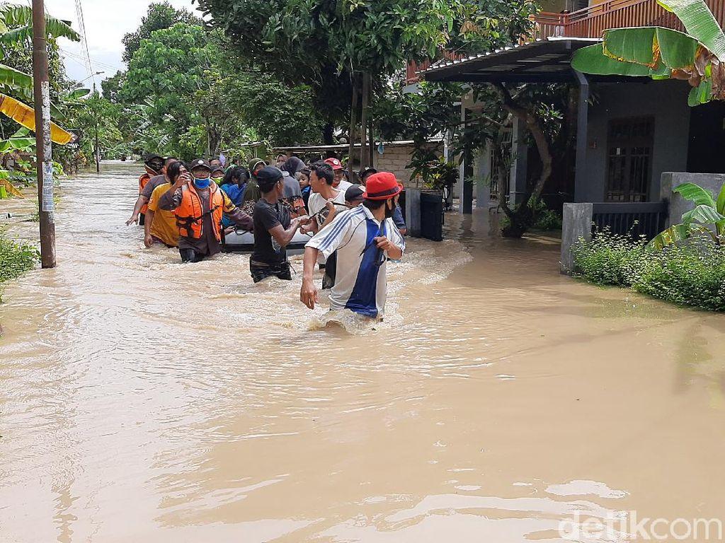 Banyumas Kebanjiran Akibat Luapan Sungai Serayu, Seribuan Rumah Terdampak