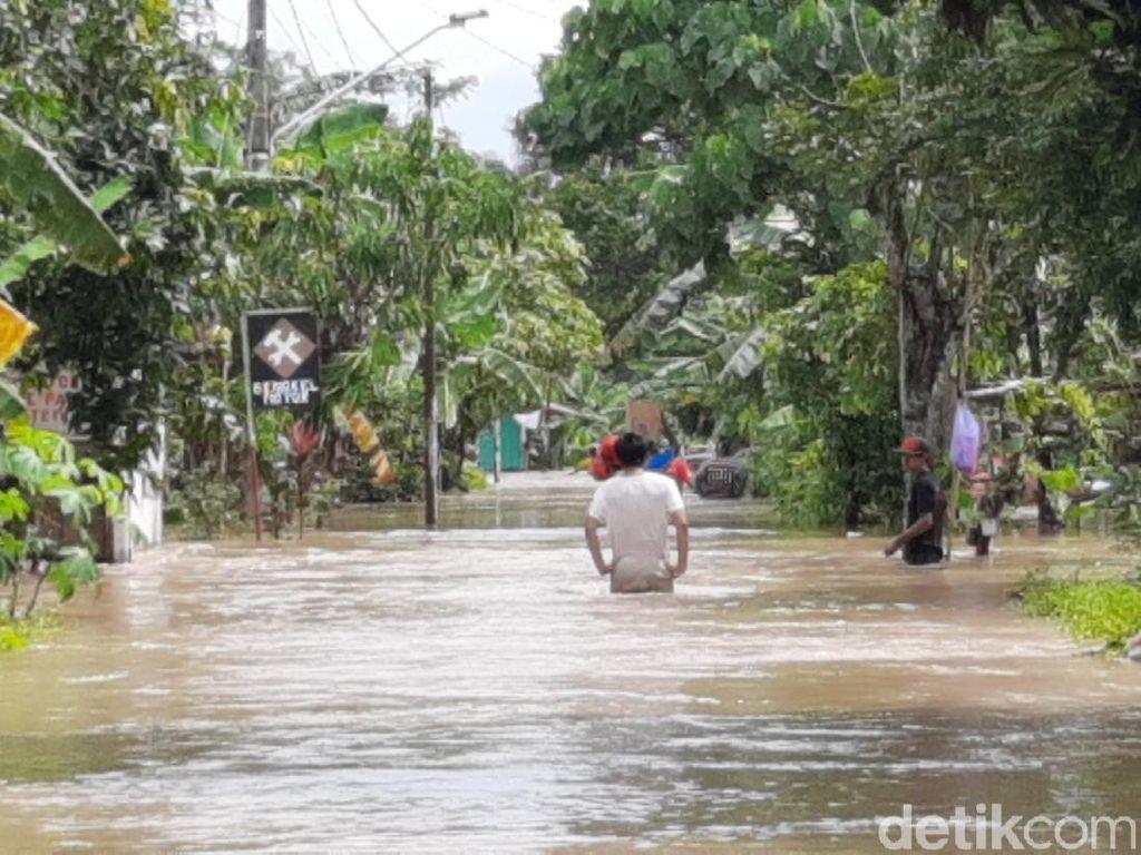 Banjir di Banyumas, Bendung Gerak Serayu Berstatus Awas