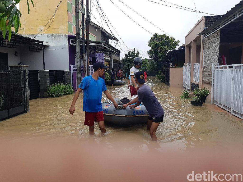 Sejumlah Titik di Kota Serang Terendam Banjir