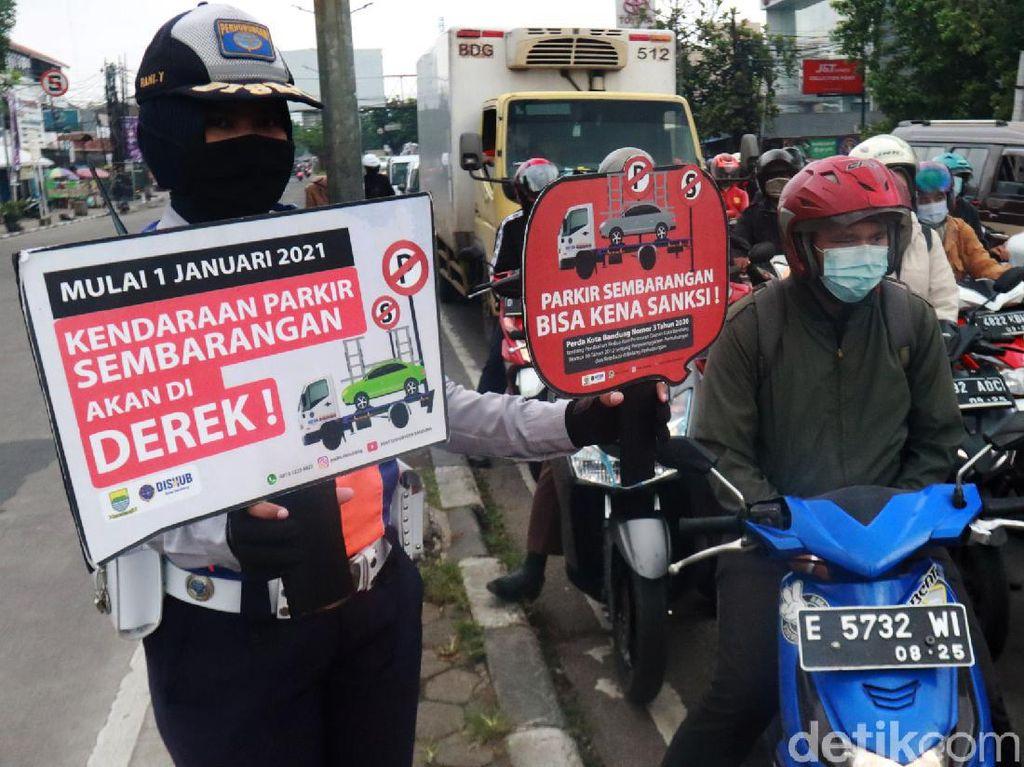Dishub Kota Bandung Sosialisasikan Perda Derek
