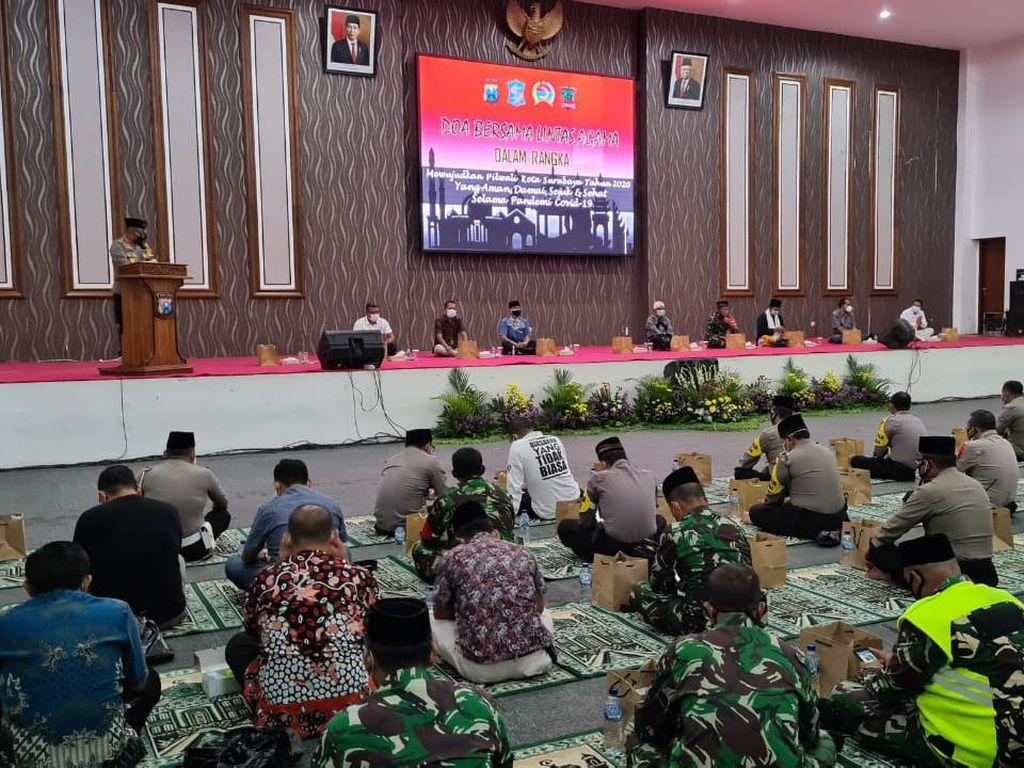 Polisi Gelar Doa Bersama Jelang Pilwali Surabaya 2020