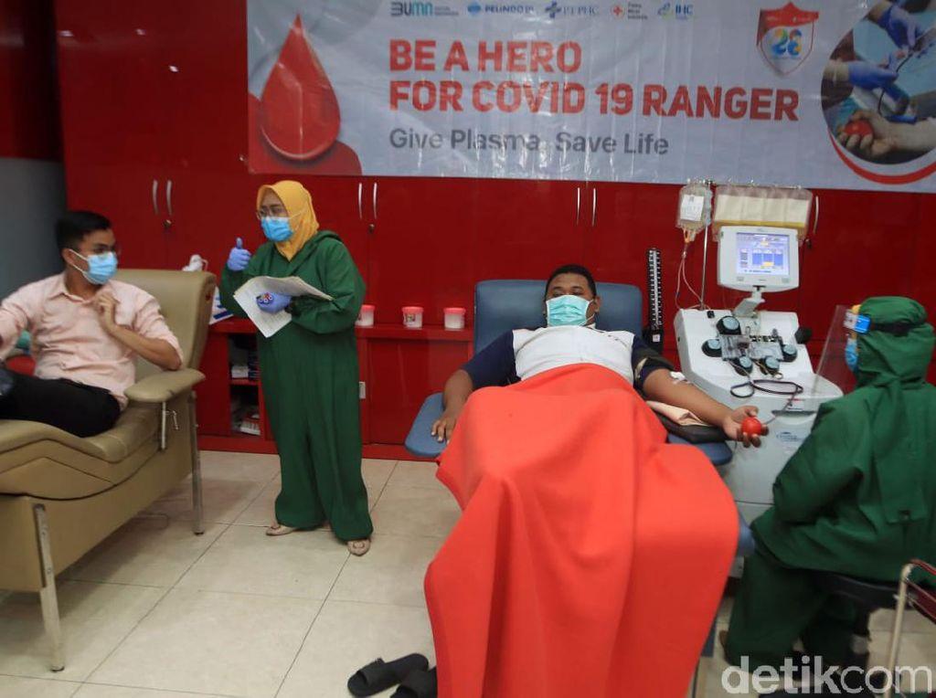 Ayo Donor, Stok Plasma Konvalesen di PMI Surabaya 2 Minggu Kosong