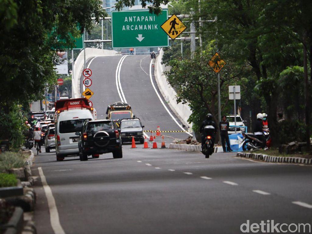 Konstruksi Rampung, Flyover Jalan Jakarta-Supratman Siap Diuji Coba