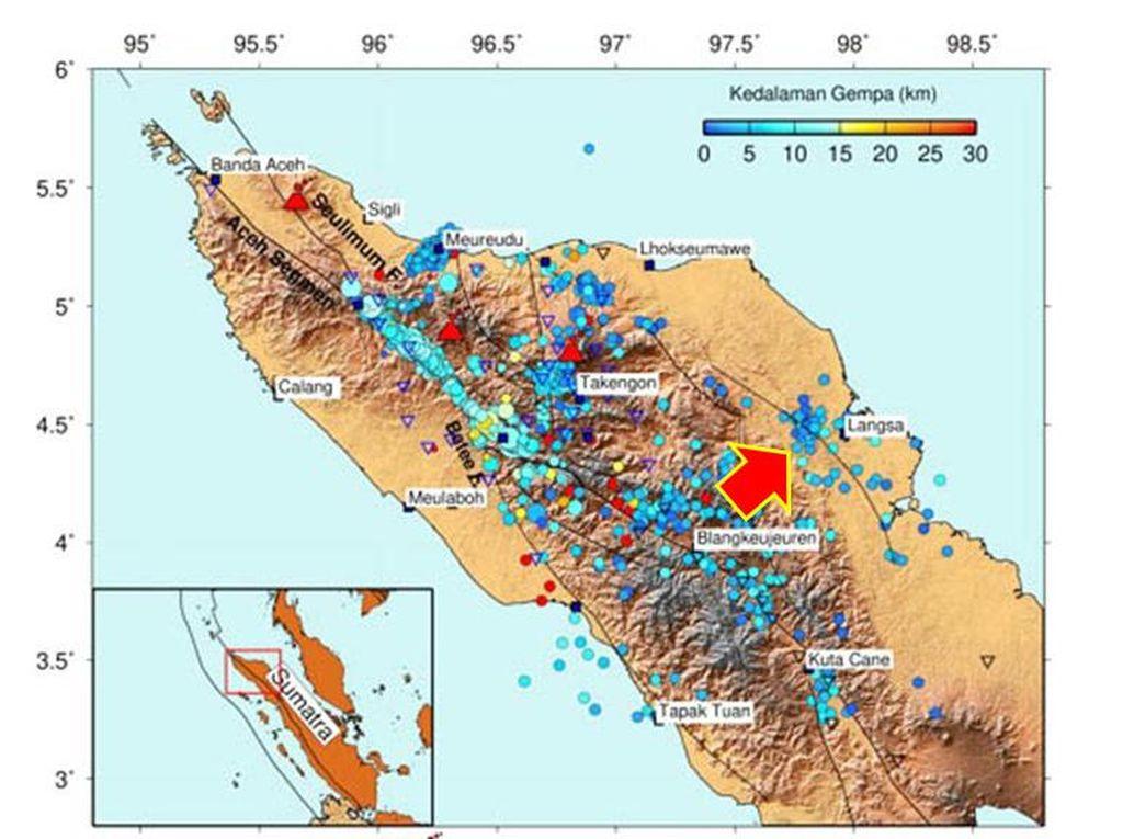 Gempa Aceh M 4,9 Dipicu Sesar Anjak Langsa, BMKG: Patut Diwaspadai