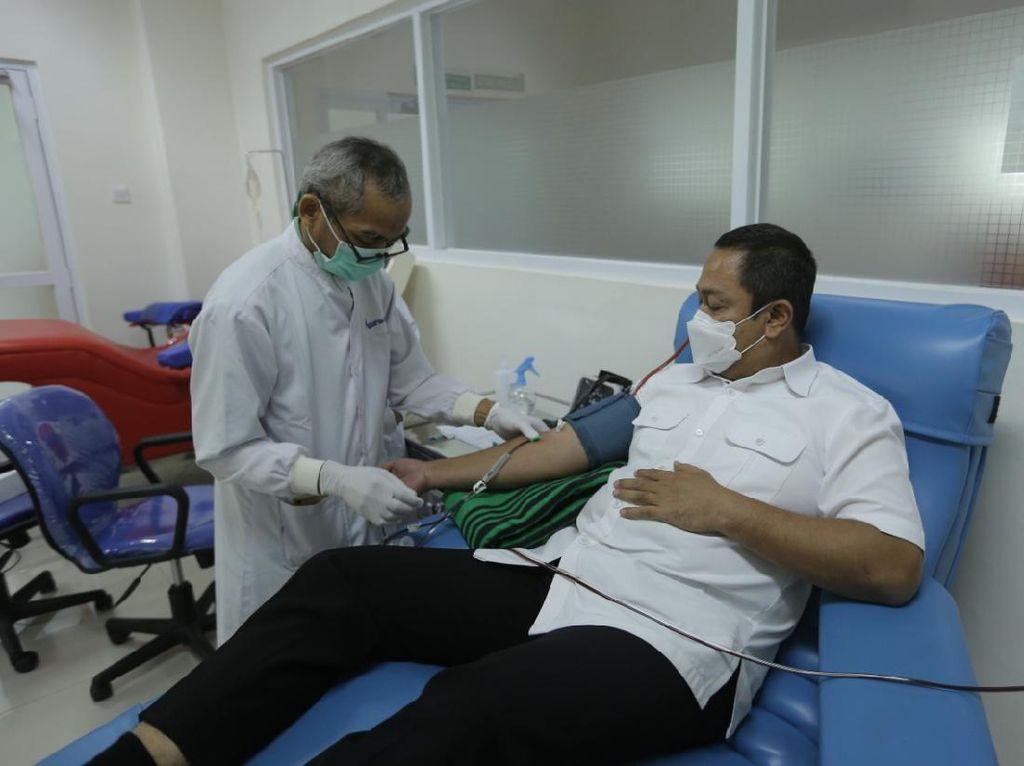 Cawalkot Hendi Imbau Penyintas Corona Donorkan Plasma Darah