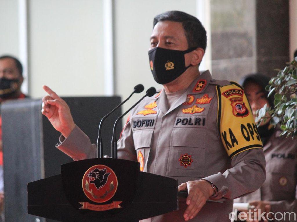 2.812 Pelaku Kejahatan Ditangkap di 2020, Kapolda Jabar: Naik dari 2019