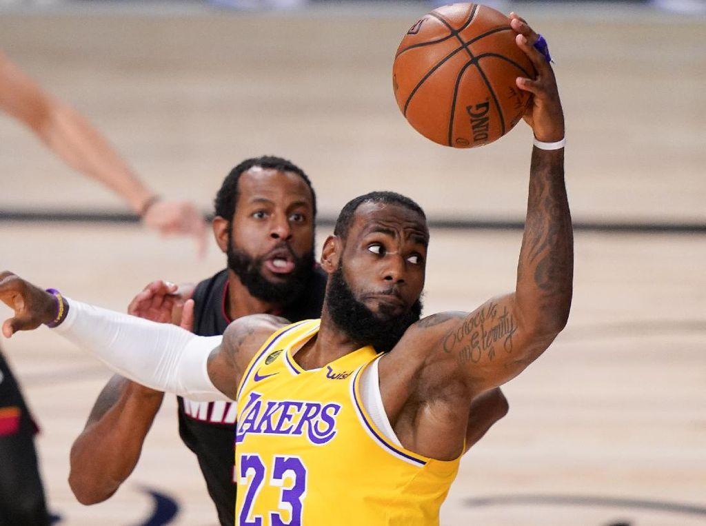LeBron James Tambah Kontrak Dua Tahun di Lakers, Dibayar 1,2 T